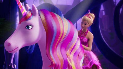 film barbie unicorn animation unplugged barbie and the secret door