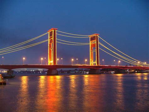 jembatan ampera salah satu ikon kota terpopuler