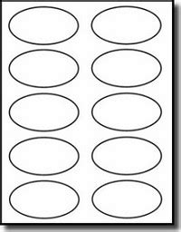 Avery Oval Label Template by Discontinued 1 000 Oval Labels 3 25 X 2 Laser Only Matte