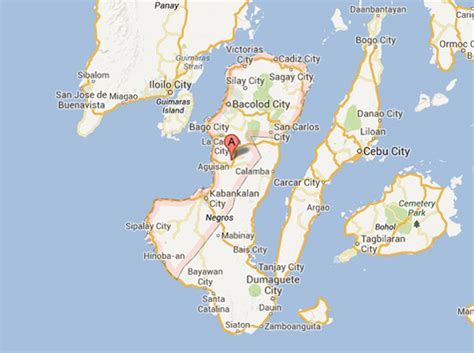 negros occidental map negros philippines pictures citiestips com