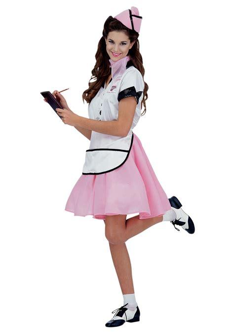 50 girl halloween costumes womens 50s soda pop girl costume