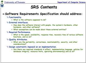 Database Specification Template by Software Requirements Specification Document Exle