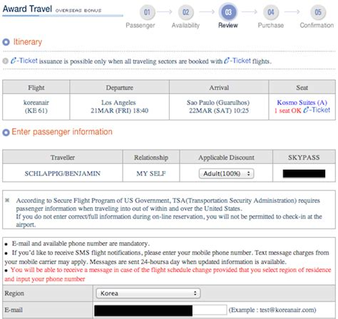 Credit Card Verification Form Korean Air Booking Korean Air Skypass Awards One Mile At A Time
