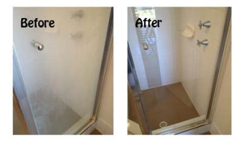 Best Product To Clean Shower Doors Shower Screen Calcium Remover Bring It On Cleaner Perth Wa
