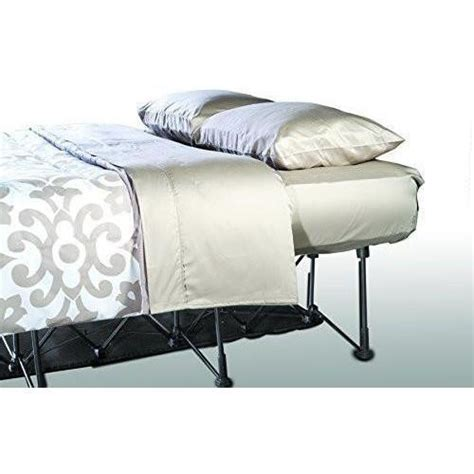 Air Bed With Frame Ez Bed Air Mattress With Frame Rolling Self U Skymall