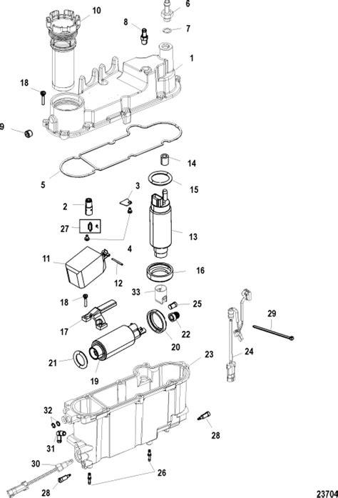 mercury optimax parts diagram diagram for 115 mercury optimax fuel filter get free
