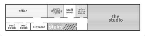 dance studio floor plan midtown west loft studio with stage and piano new york