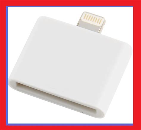 Apple 30 Pin To 8 Pin Lightning Converter Adapter Putih free s h 30 pin to 8 pin lightning adapter converter for