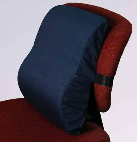 Memory Foam Back Pillow by Memory Foam Lumbar Cervical Cushion