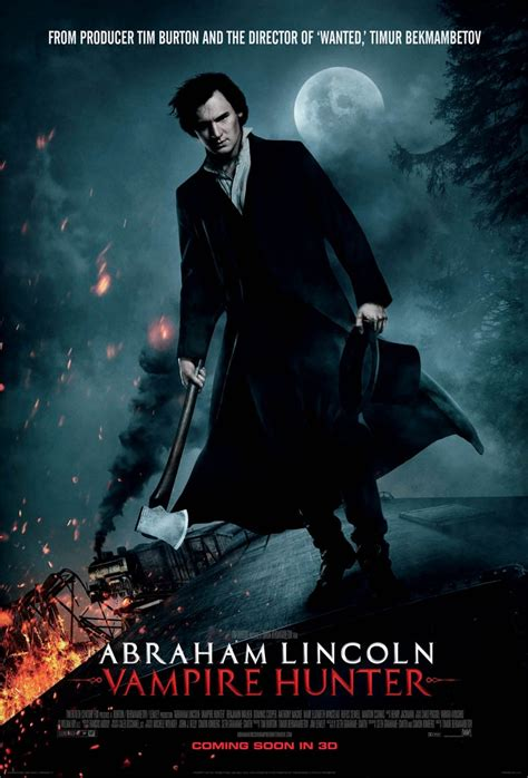 biography of abraham lincoln movie in theaters 06 22 2012 quot abraham lincoln vire hunter