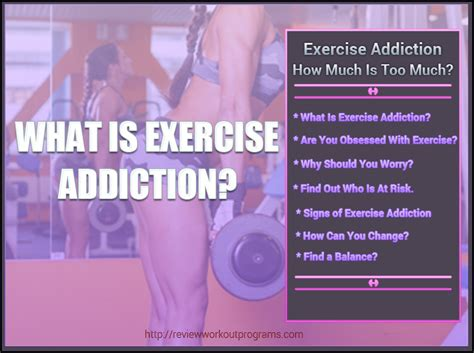 Exercise Detox Symptoms by What Is Exercise Addiction And How Much Is Much