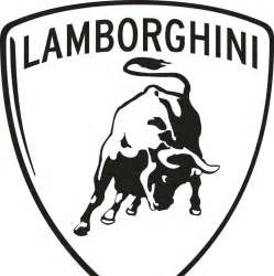 Lamborghini Logo Black Lamborghini Logo Black And White Auto Datz
