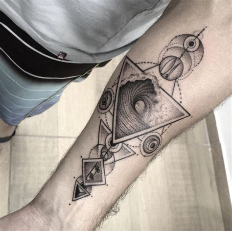 geometric tattoo design 40 geometric designs for and tattooblend
