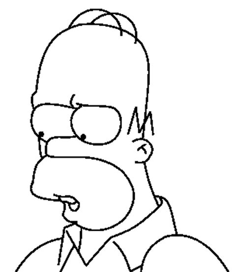 Simpsons Coloring Pages Coloringpages1001 Com Simpsons Coloring Pages