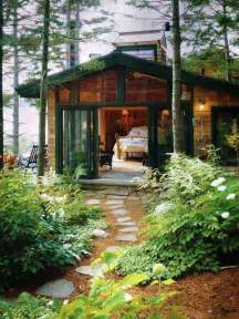 Small Cabin In The Woods 23 Breathtaking Forest Fringed Wood Cabins