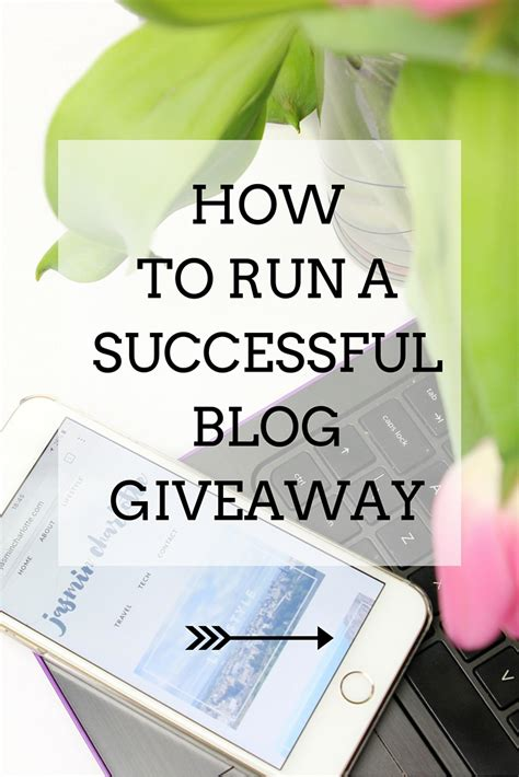 How To Do Blog Giveaways - jc tech how to run a successful blog giveaway jasmin charlotte