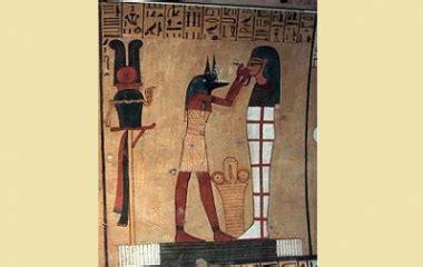 anubis egyptian god of embalming   mythology.net