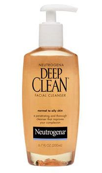 amazon deep cleaning amazon com neutrogena deep clean facial cleanser normal