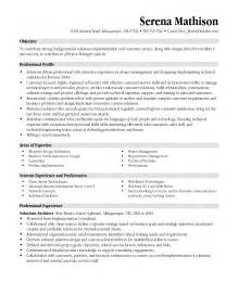 Sle Business Administration Resume by Business Administration Healthcare Management Resume