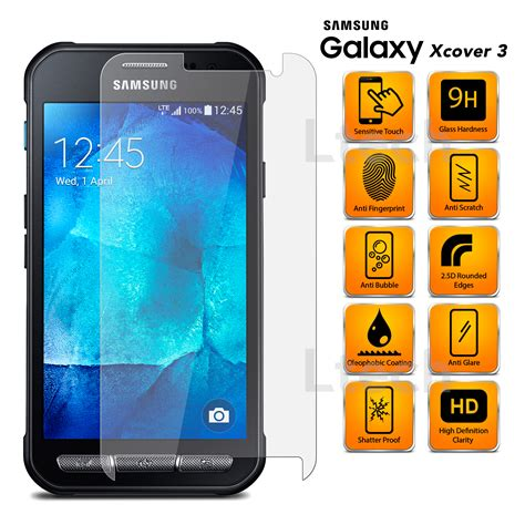 Tempered Glass Samsung G V V Ace4 samsung galaxy xcover 3 sm g388f transparent tempered
