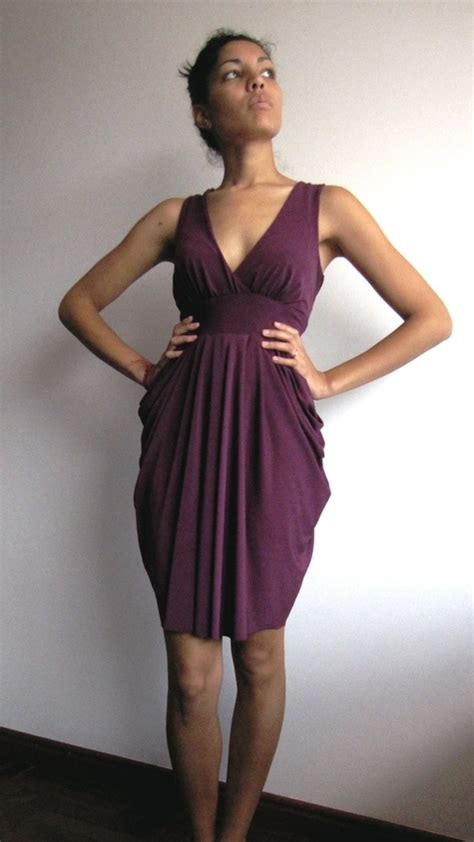 how to sew a draped dress plum drapes drape drape dress no5 sewing projects