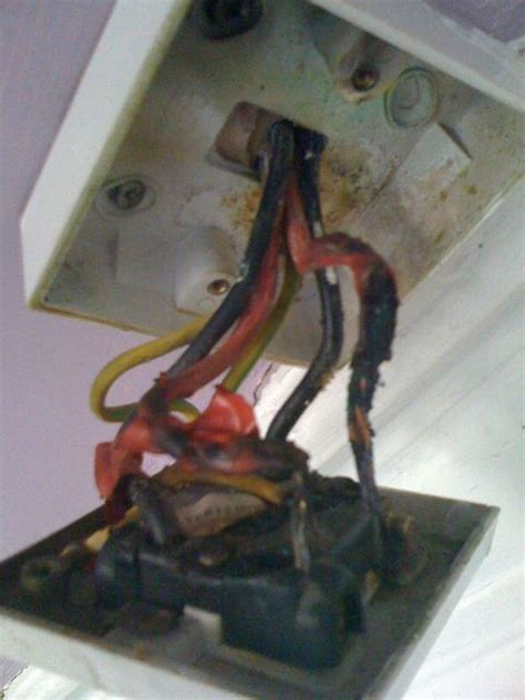 How To Fix Shower Switch shower switch replacement cord pull burnt wires