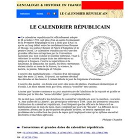 Calendrier Napoleonien R 233 Volution Et Empire Pearltrees