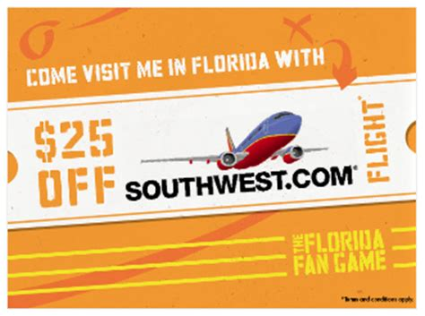 airline coupons for southwest