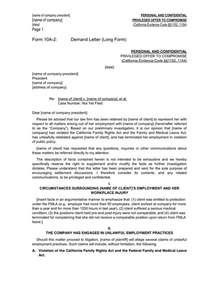 Are Offer Letters Confidential Demand Letter In Word And Pdf Formats