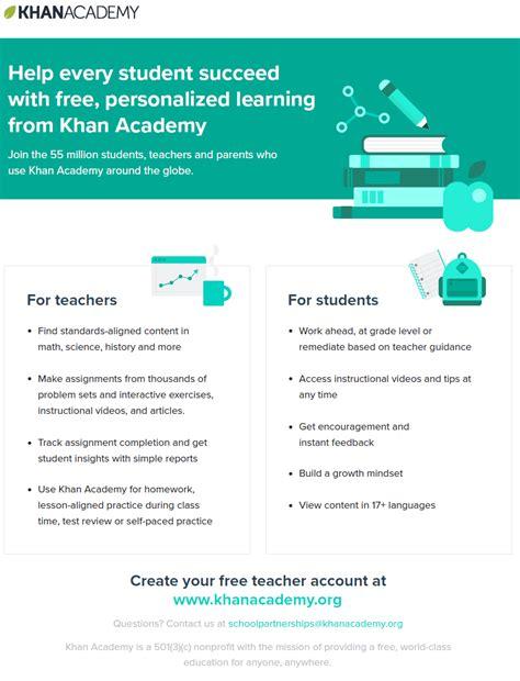 Announcements Khan Academy Website Template