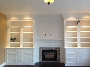 Fireplace Bookshelves Design 25 Best Ideas About Recessed Wall Lights On