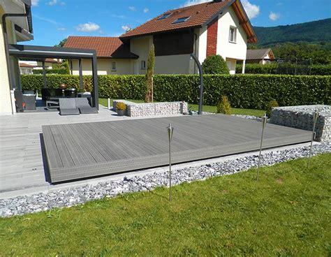 Mobile überdachung Terrasse by Fabrication D Une Terrasse Mobile En Suisse Par Octavia