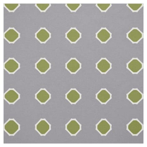 grey hexagon pattern fabric green and gray hexagon pattern fabric zazzle