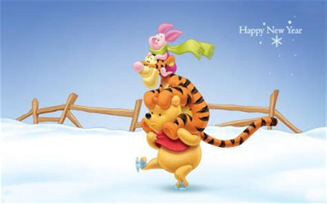 winnie the pooh new year wallpaper new year wallpaper 2012 winnie the pooh new year wallpapers