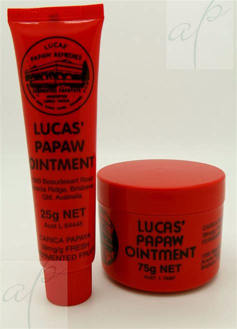 Lucas Pawpaw Ointment lucas papaw ointment