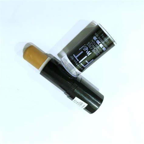Maybelline Fit Me Stick maybelline fit me shine free stick foundation review