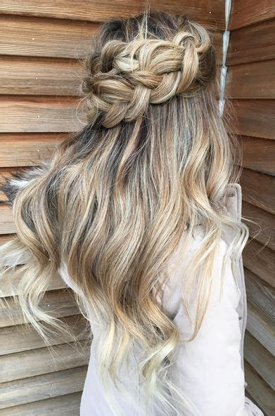Half Up Braided Hairstyles by Half Up Half Braid Mane Interest