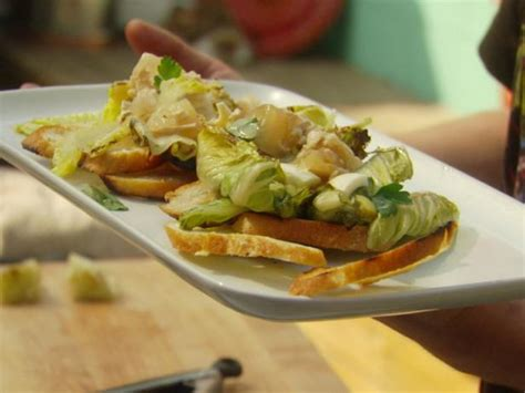 chef warner recipes grilled chicken caesar salad recipe justin warner food