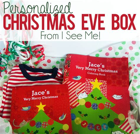 christmas gifts starting with n personalized box tradition with i see me giveaway i arts n crafts