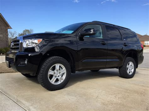 Toyota Sequoia Lifted Revtek 2 5 Quot Lift Kit For 2008 2015 Toyota Sequoia