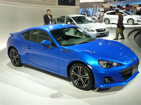 subaru cars 2013 2013 subaru brz live photos and video 2011 tokyo motor show