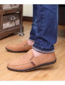 Sepatu Ori Bahan Bludru jual sepatu flats pria