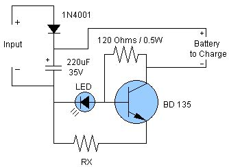 nicd battery charger circuit diagram nicd nimh battery charger circuit circuit diagram
