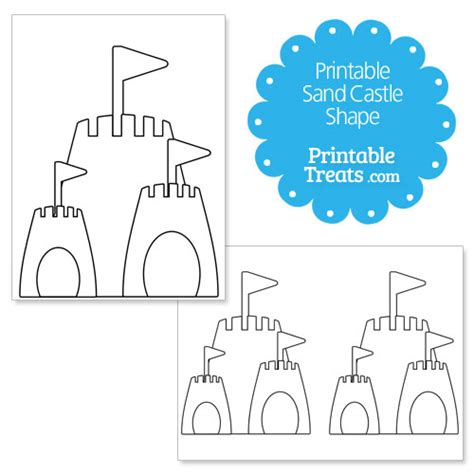 sand template image gallery sandcastle template