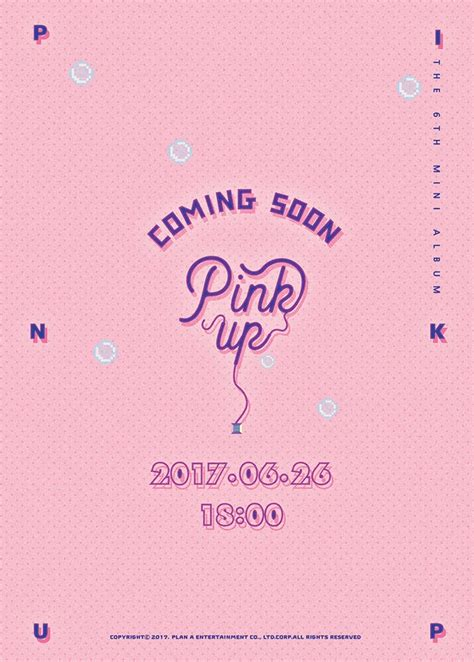 Apink Album Pink Up Blue Ver apink slates summer quot pink up quot comeback for june 26th moonrok