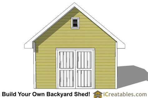 14x20 shed plans easy to build regular shed plans