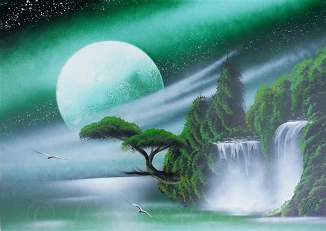 spray paint nature spray paint amazing green nature painting