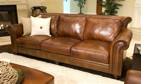 full grain leather sofa 20 collection of full grain leather sofas sofa ideas