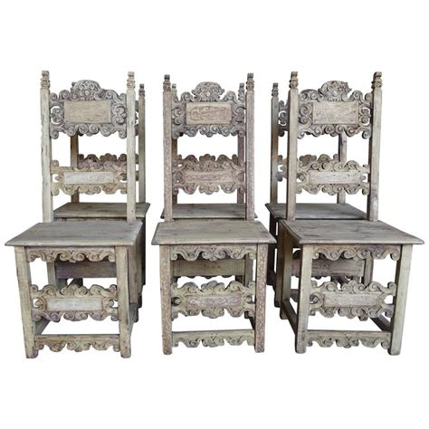 Italian Dining Chairs For Sale Set Of 18th Century Italian Dining Chairs For Sale At 1stdibs