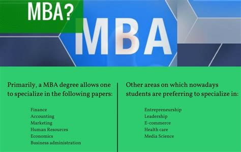 What Can You Get With An Mba by Everything About Mba Masters Of Business Administration